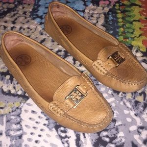 Leather Tory Burch Loafers